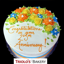 Anniversary Cakes from Triolo's Bakery Bedford, NH, USA