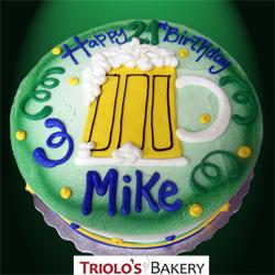 Cheers 21st Birthday Cake