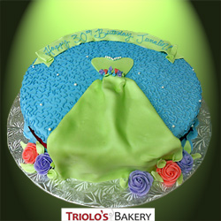 Seamstress 30th Birthday Cake