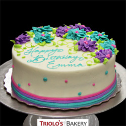 Classic Buttercream Birthday Cake