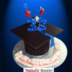 Future Doctor Birthday Cake