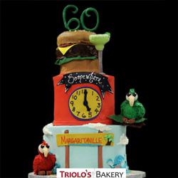 Margaritaville Birthday Cake
