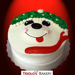 Polar Bear Birthday Cake from Triolo's Bakery