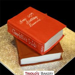 Books Birthday Cake