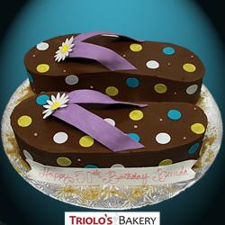 Flip Flops Birthday Cake