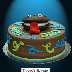 Whoopie Monster Birthday Cake