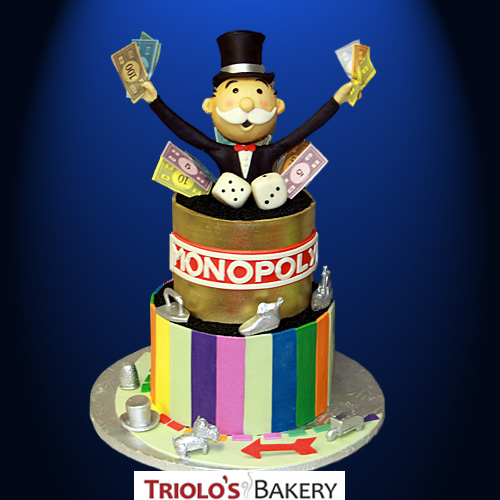 Donated Cakes from Triolo's Bakery