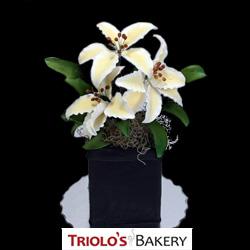 White Lillies - Edible Centerpiece Collection
