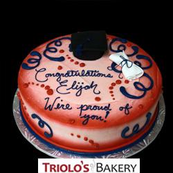 Graduate Celebration Cake