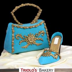 Designer Handbag Cake from Triolo's Bakery