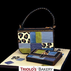 Designer Handbag and Wallet Cake from Triolo's Bakery
