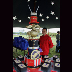 U.S. Marine Corps Cake from Triolo's Bakery