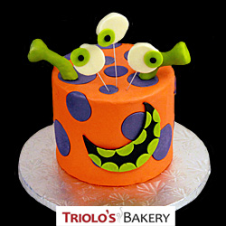 Orange Monster Cake from Triolo's Bakery