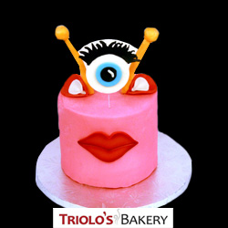 Pink Monster Cake from Triolo's Bakery