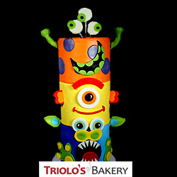 Totem Pole Monster Cake from Triolo's Bakery