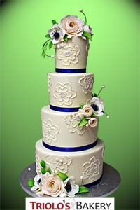 Wedding Cakes - Triolo's Bakery