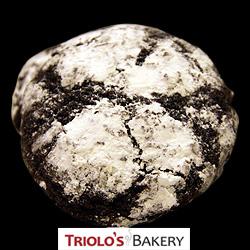 Chocolate Crinkle Cookies - Triolo's Bakery