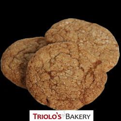 Gingersnap Cookies - Triolo's Bakery