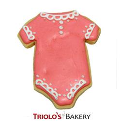 Baby Girl Baby Shower Cookie Favor