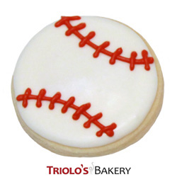The Baseball Cookie Favor, perfect for baseball themed parties, world series party, little league celebration, high school baseball team parties, fundraisers, and championship parties.
