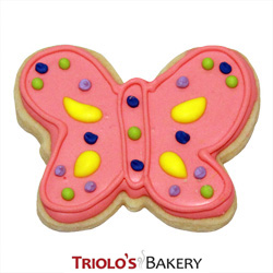 The Buterfly Cookie Favor, perfect for garden parties, floral shows, farm markets, fundraisers, spring gift baskets, and summer cookie bouquets.