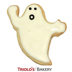 The Ghost Cookie Favor, perfect for halloween and ghost adventure themed parties. Send in a gift basket or cookie bouquet.
