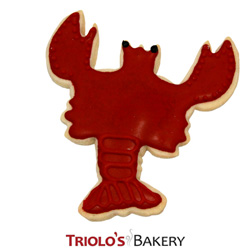 The Lobster Cookie Favor, perfect for the beach party favor, seafood festival, and seacoast event favor. Send in a gift basket or cookie bouquet.