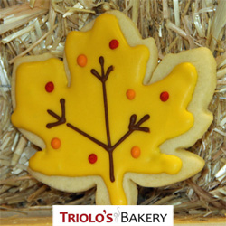 The Maple Leaf Cookie - Triolo's Bakery