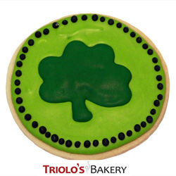 The Shamrock Cookie from Triolo's Bakery