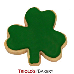 The Shamrock Cookie, from Triolo's Bakery