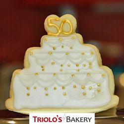 Wedding Anniversary Cookie Favor