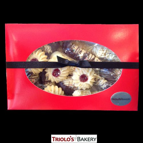 Cookie Gift Box | Italian Cookies | Triolo's Bakery