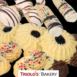 Traditional Italian Butter Cookies from Triolo's Bakery
