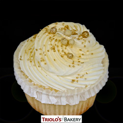 Champagne Cupcake - Triolo's Bakery