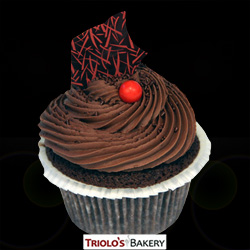 Chocolate Chili Cupcake - Triolo's Bakery