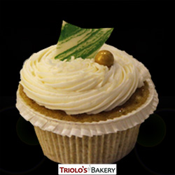 Coconut Curry Gourmet Cupcake - Triolo's Bakery
