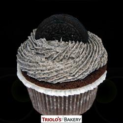 Cookies N Cream Gourmet Cupcake - Triolo's Bakery
