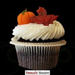 Fall Gourmet Cupcake - Triolo's Bakery