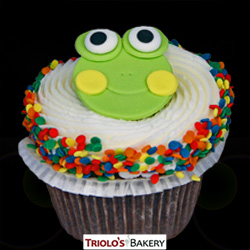 The Frog Cupcake - Triolo's Bakery