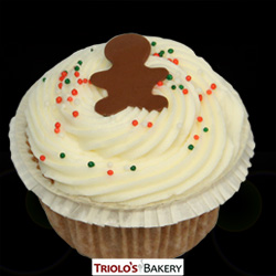Gingerbread Gourmet Cupcakes - Triolo's Bakery.