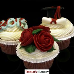 Graduation Cupcakes - Triolo's Bakery