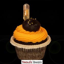 Grand Marnier Gourmet Cupcake - Triolo's Bakery