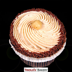 Hazelnut Gourmet Cupcakes - Triolo's Bakery