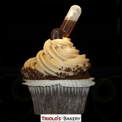 Mocha Gourmet Cupcake - Triolo's Bakery