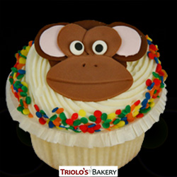Monkey Face Cupcakes - Triolo's Bakery