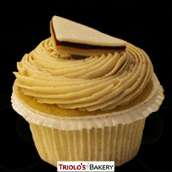 Peanut Butter and Jelly Cupcake - Triolo's Bakery