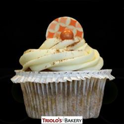 Pumpkin Spice Cupcake - Triolo's Bakery.