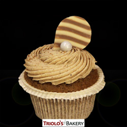 Vanilla Chia Cupcake - Triolo's Bakery