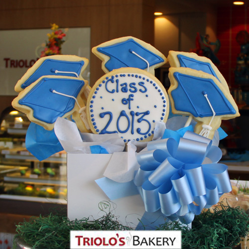 Graduation Gift Basket - Gift Baskets from Triolo's Bakery