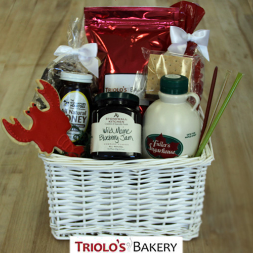 New England Spirit Gift Basket - Gift Baskets from Triolo's Bakery